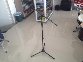 Atril Para Micrófono Con Boom Super Fix