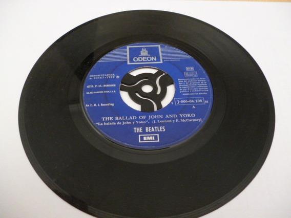 The Beatles Old Brown Shoe Simple 7` Español