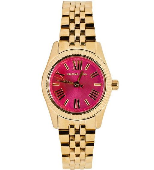 Relógio Luxo Michael Kors Mk3270 Orig Anal Pink Gold!!!