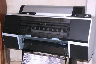 Plotter Epson 7700 Con Sistema Continuo Para Sublimar-