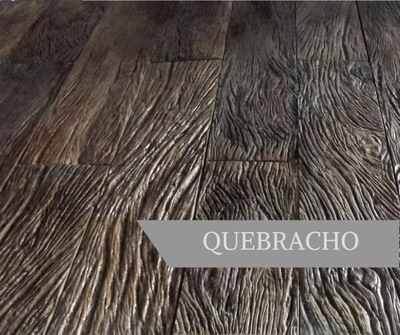 Piso Símil Madera - Quebracho 50x12cm - Línea Wood