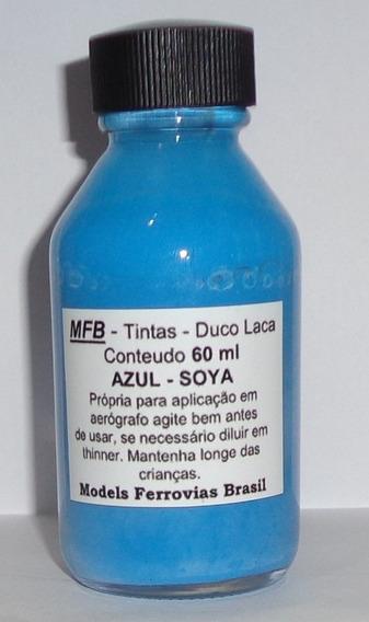 Mfb Tintas Azul Soya Duco Laca Nitrocelulose