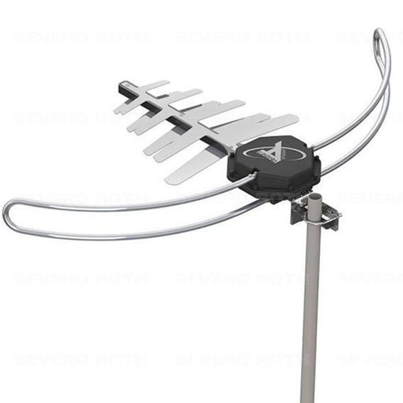 Antena Para Tv Digital Externa Hdtv Uhf Vhf Fm Castelo M1088