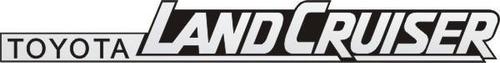Emblema Land Cruiser