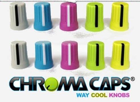 Chromacaps Por Djtechtools (perillas Para Equipos De Dj )
