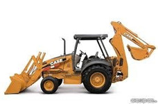 Alquiler O Rento Retro Excavadora Case 580