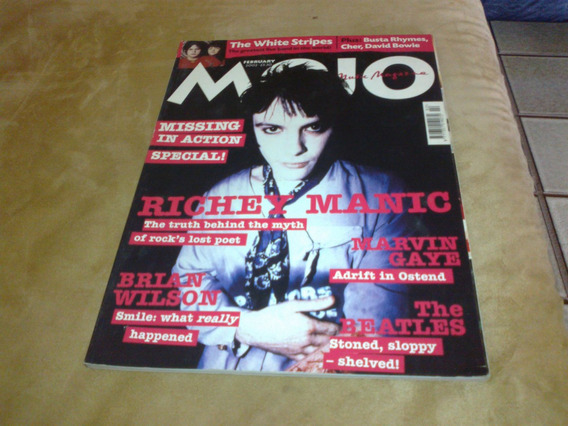 Revista Mojo - Richiey Manic - The Truth Behind...fev 2002