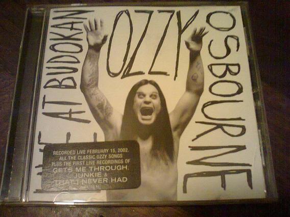 Ozzy Osbourne - Live At Budokan Cd Usa Import Descatalogado