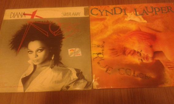 Lps Cindy Lauper E Diana Ross