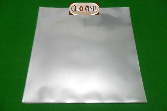 50 Plásticos P/ Capa De Lp Discos Vinil - 0,20 Extra Grosso