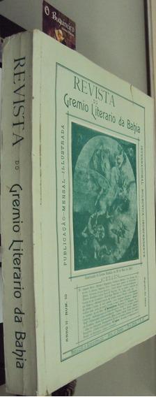 Revista Do Grêmio Literário Da Bahia - Fac-símile