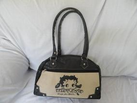 Bolsa Betty Boop =23cmx35cmx10cm. Alças 67cm