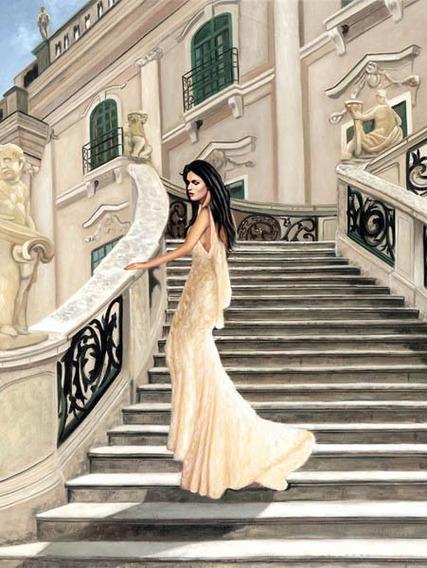 Grand Palais, Pierre Benson, Lamina Importada De 30 X 40 Cm