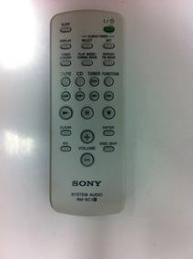 Controle Remoto Sony Rm-sc1 Cmt-ne3 Nez3