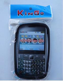 Capa Silicone Original Kingo P/ Samsung Chat 355 S3350