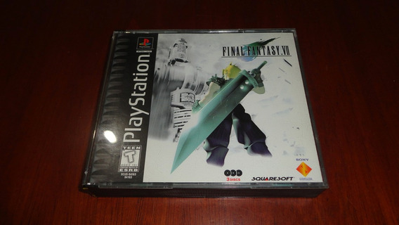 Final Fantasy 7 Missprint Original - Playstation