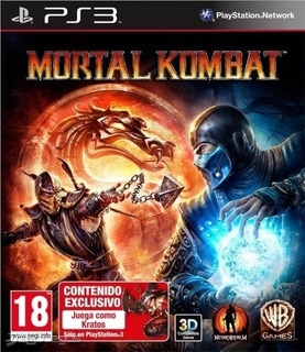 Mortal Kombat 9 Ps3 Con D L C Kratos Online + Tema Dinámico.