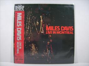 Ld - Laserdisc Miles Davis - Live In Montreal 1985 - Raro