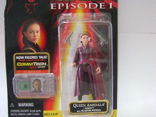 Imagen 1 de 5 de Nico Queen Amidala Naboo Star Wars (swi 04)