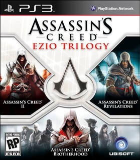 Assassins Creed Ezio Trilogy Ps3 Digital Gcp