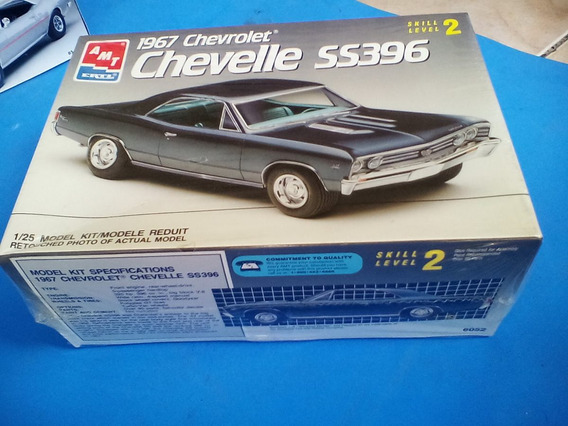 1:25 Chevrolet Chevelle Ss Muscle Car