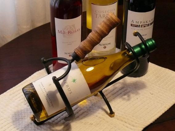 Apoyabotella, Posabotella, Soporte Metalico Botellas Vino