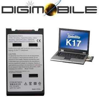 Bateria Toshiba Pa3285u Satellite J60 J70 K10 Qosmio 4400mah