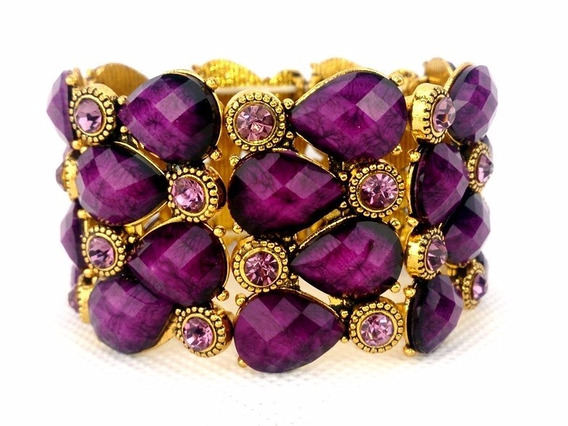 Bracelete Purple Party