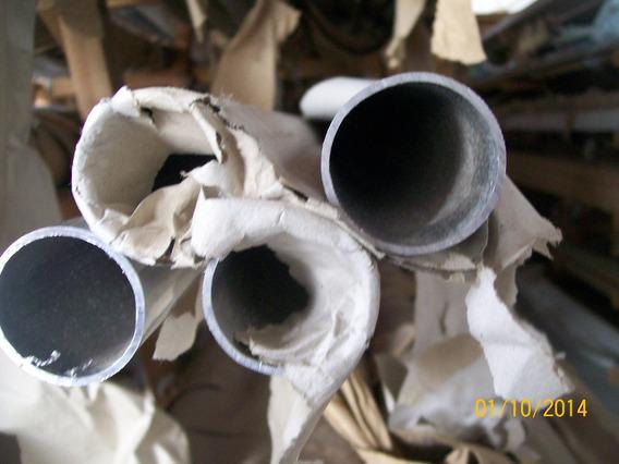 Tubo Redondo De Alumínio Natural 2.1/2 (65 X 3,17 X650mm)