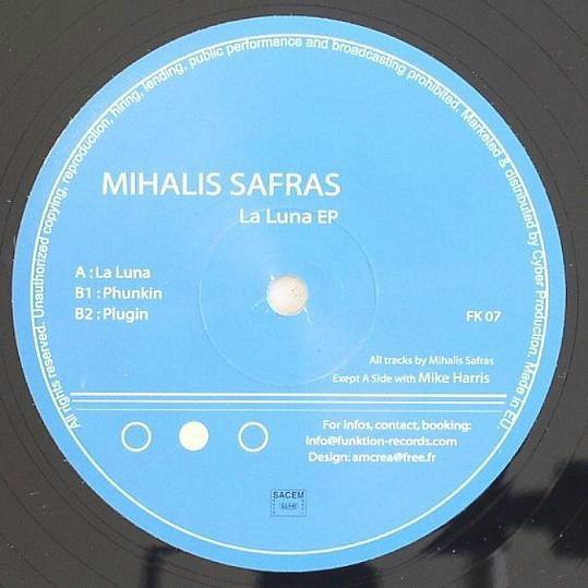 Mihalis Safras 12 Single La Luna Ep