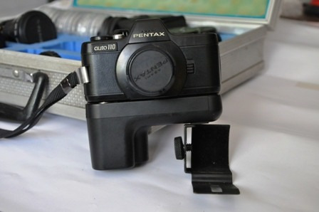 Câmera Mini-pentax, Maleta Original E Acessórios. Raridade!