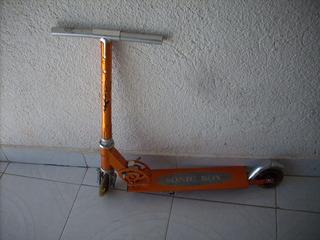 Juguete Patin Del Diablo Aluminio Sin Tornillo Para Reparar