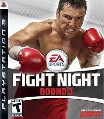 Fight Night Round 3 Ps3 Mídia Física Semi Novo