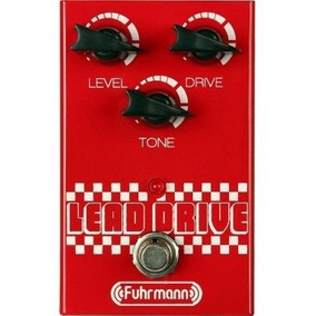 Pedal Distortion Fuhrmann Lead Drive True Bypass Overdrive