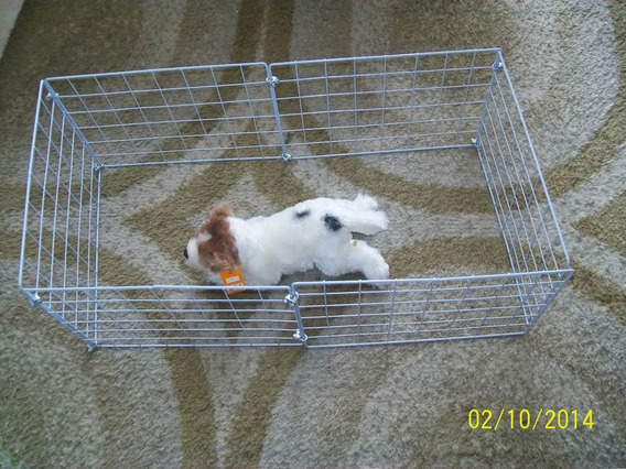Cercadinho P/ Filhotes York Pincher Shi Tzu Sptz Lulu Poodle
