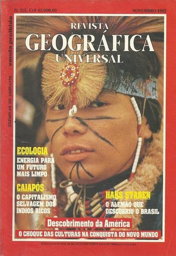 Coleção Revista Geográfica Universal