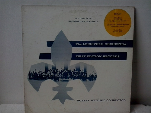 Lp The Louisville Orc. - First Edition Records Importado