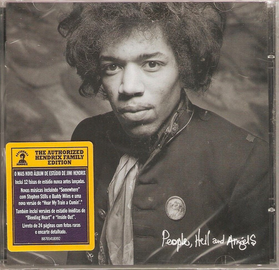 Cd Jimi Hendrix - People, Hell And Angels - Novo Lacrado***