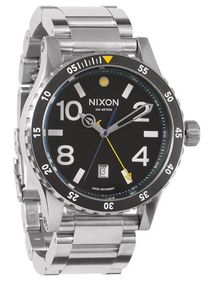 Reloj Nixon Diplomat Acero Inoxidable A277-000 Envio Gratis