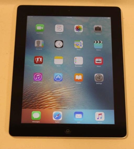 iPad 4 16gb Preto - Wi-fi - Ios 9 + Smart Case