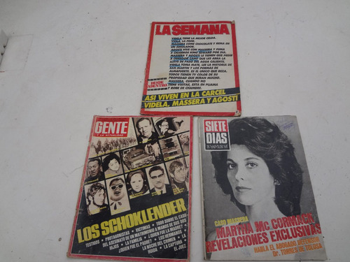 Revistas Gente La Semana 7 Dias
