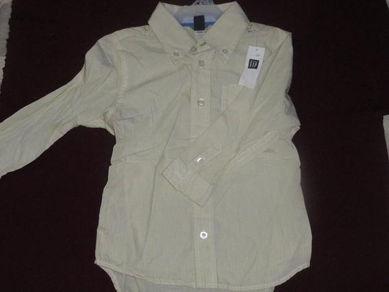 Hermosa Camisa De Niño Baby Gap Talla 4