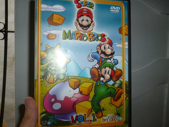 Dvd Super Mario Bros. Volume 1 - Frete Gratís
