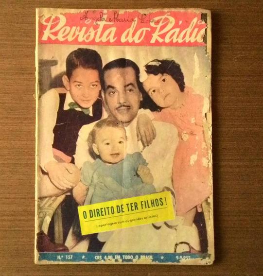 Revista Do Rádio 1952 Numero 157 Paulo Gracindo Jorge Murad
