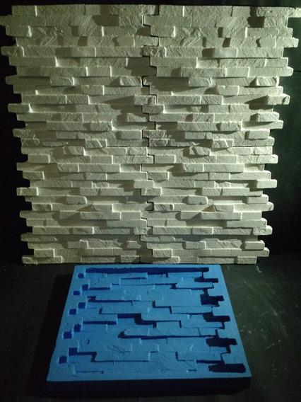 Silicone 100% Forma Placas Gesso 3d Canjica Encaixe 33x30cm