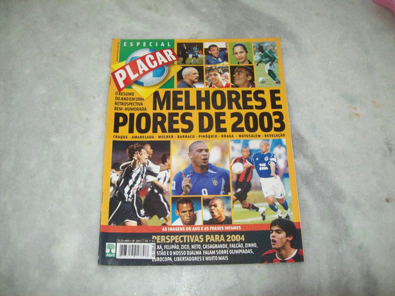 Revista Placar - Retrospectiva 2003