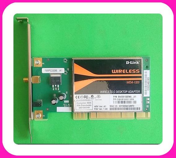 Placa Wireless Dlink Wda1320 Pci
