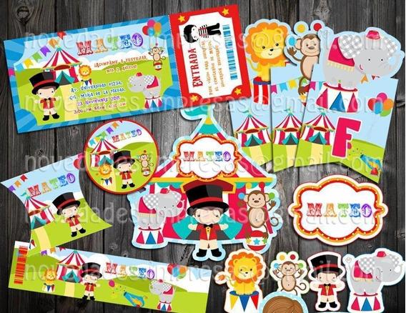 Kit Imprimible Animalitos Economico Original Recuerdo Fiesta