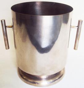 Champanheira Art Decó Com Banho De Prata - Art Prata