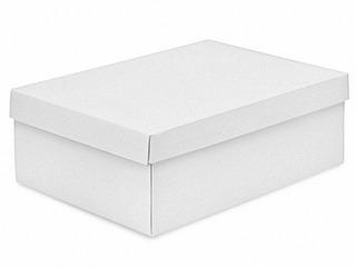 25 Cajas Blanco Brilloso De Cartoncillo Para Botas Unisex